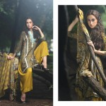 Firdous Pashmina 2014 Shawl Dress 8