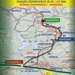 Hazara Motorway-Expressway Route Map Hasanabdal-Hevelian-Mansehra