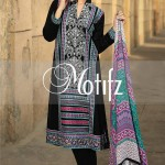 Motifz Embroidered 2014 Winter Dress 11
