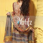 Motifz Embroidered 2014 Winter Dress 2