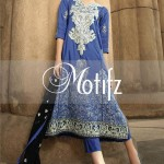 Motifz Embroidered 2014 Winter Dress 3