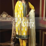 Motifz Embroidered 2014 Winter Dress 4