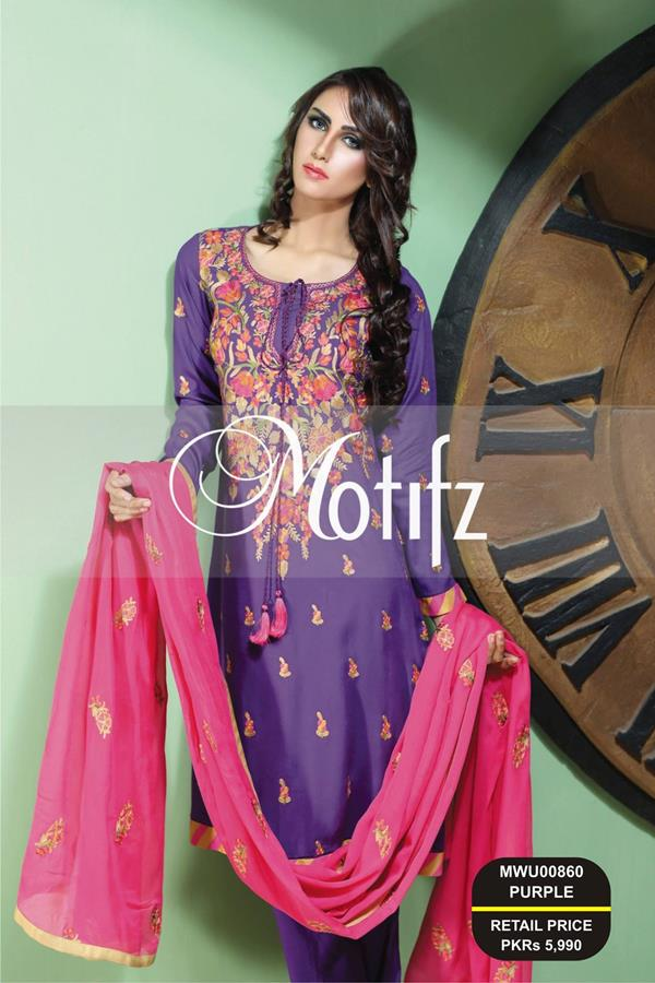new cambric linen dresses for winter parties by Motifz.