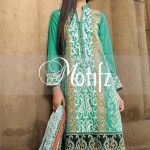 Motifz Embroidered 2014 Winter Dress 7
