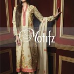 Motifz Embroidered 2014 Winter Dress 8