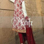 Motifz Embroidered 2014 Winter Dress 9