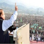 Nawaz Sharif Addressing Public Rally after ground breaking ceremony of  Hazara Motorway in Havelian