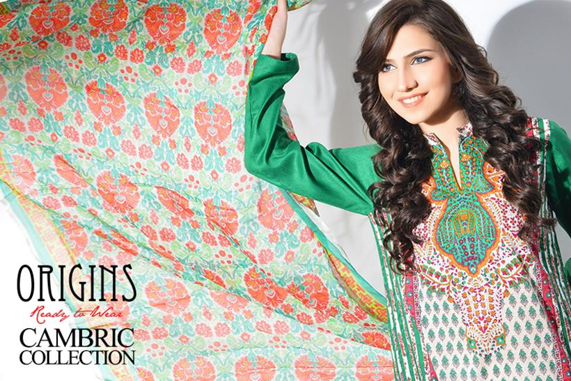 stylish cambric dresses by Origins from it's Fall Winter Collection 2014-15