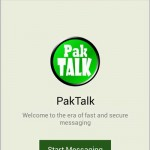 PakTalk Online Messaging Service App of Pakistan