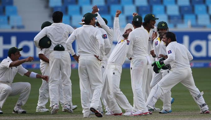 Pakistan Test Series Victory