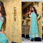 Rujhan Fabric 2014 Winter Dress 16