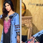 Rujhan Fabric 2014 Winter Dress 18