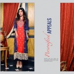 Rujhan Fabric 2014 Winter Dress 21