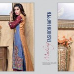 Rujhan Fabric 2014 Winter Dress 22