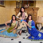 Rujhan Fabric 2014 Winter Dress 23