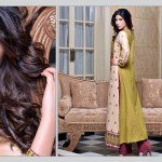 Rujhan Fabric 2014 Winter Dress 4