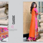 Rujhan Fabric 2014 Winter Dress 7