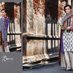 Shariq Textile 2014 Winter Shawl 3