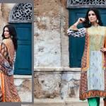 Shariq Textile 2014 Winter Shawl 7