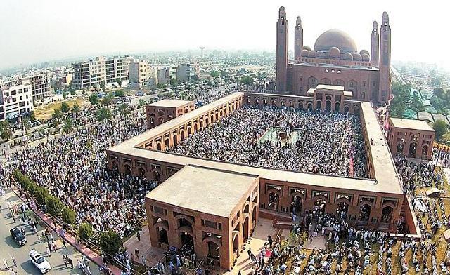 Bahria Town Jamia Masjid Juma Prayer 5-12-2014