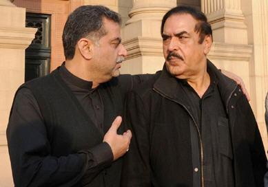 Inam ullah Niazi MPA PP-48 Bhakkar in Punjab Assembly with Zaeem Dasri