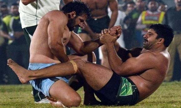 Pakistan India kabaddi world cup final match summary 2014-15