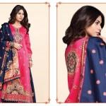 Kayseria Winter 2014-15 Silk Suit 22
