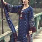 MARIA B Winter 2014 Linen Dress 2