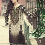 MARIA B Winter 2014 Linen Dress 3