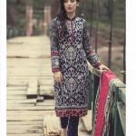 MARIA B Winter 2014 Linen Dress 8