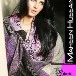 shariq textiles launched new winter dresses designed by Maheen Hussain.