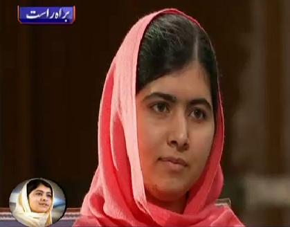 Malala Yousafzai in Nobel Peace Prize Ceremony - Oslo Norway 10-12-2014