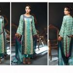 Noor Jahan Linen 2014 Dress 10