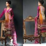 Noor Jahan Linen 2014 Dress 13