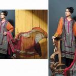 Noor Jahan Linen 2014 Dress 18