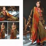 Noor Jahan Linen 2014 Dress 2