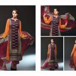 Noor Jahan Linen 2014 Dress 4