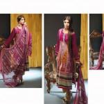 Noor Jahan Linen 2014 Dress 5
