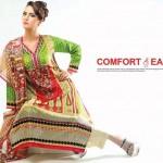 Noor Jahan Linen 2014 Dress 8