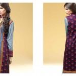 Sania Zara 2014-15 Embroidered Kurti 13