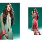 Sania Zara 2014-15 Embroidered Kurti 3
