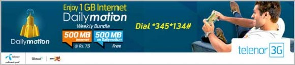 Telenor Dailymotion Bundles