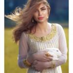 Farida Hasan 2015 Winter Dress 14