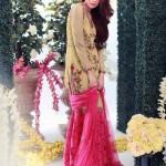 Farida Hasan 2015 Winter Dress 16