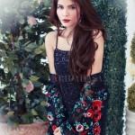 Farida Hasan 2015 Winter Dress 5