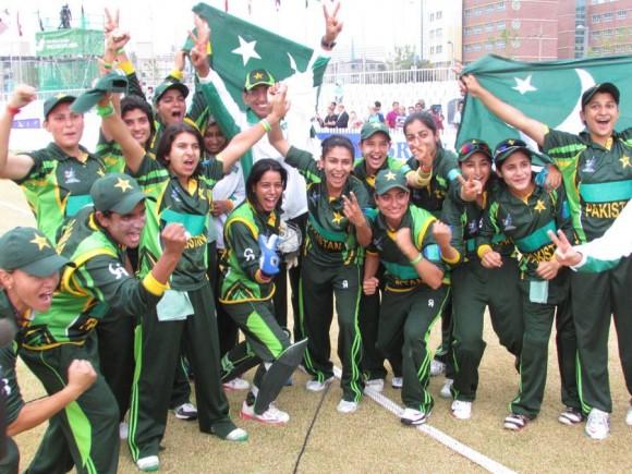 Pakistan Women Team 2015 Series