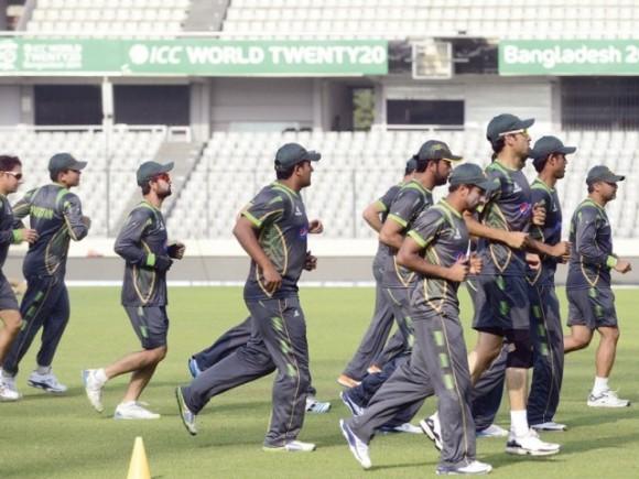Pakistan World Cup Training