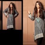 Shariq Textiles 2015 Winter Kurti 12