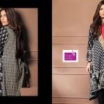 Shariq Textiles 2015 Winter Kurti 15