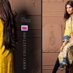 Shariq Textiles 2015 Winter Kurti 17